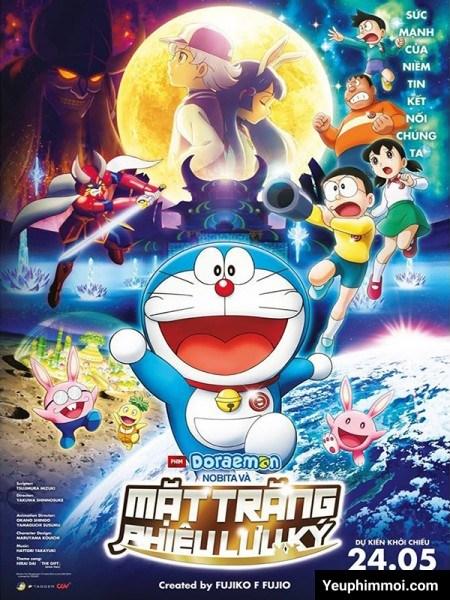 Doraemon Movie 39: Nobita Và Mặt Trăng Phiêu Lưu Ký