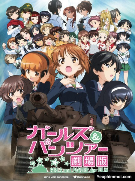 Girls And Panzer Movie