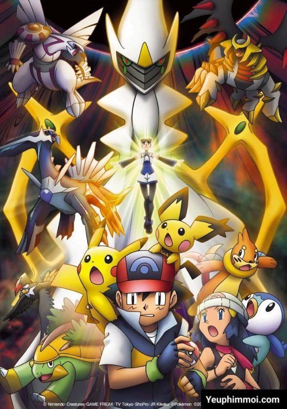 Pokemon: Arceus Chinh Phục Khoảng Không Thời Gian