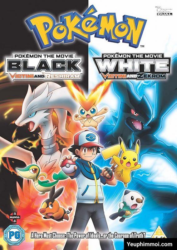 """Pokemon: Victini Và Bạch """"Hắc"""" Anh Hùng Reshiram """"Zekrom"""""""