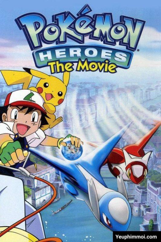 Pokemon: Thần Hộ Mệnh Của Thành Phố Nước Latios và Latias