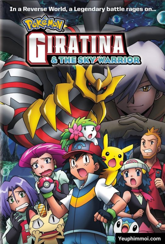 Pokemon: Giratina Và Bông Hoa Của Bầu Trời