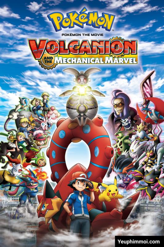 Pokemon: Volcanion Và Magearna Siêu Máy Móc