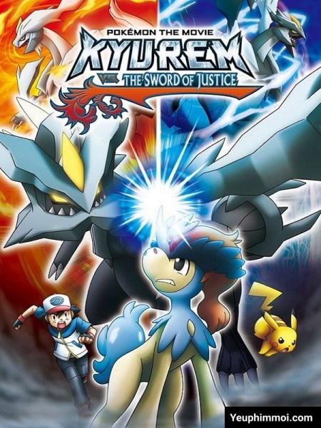 Pokemon: Kyurem Vs Thánh Kiếm Sĩ Keldeo