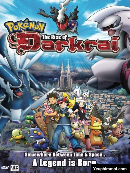 Pokemon: Cuộc Đối Đầu Giữa Dialga Với Palkia Và Darkrai