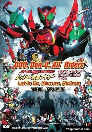 OOO x Den-O All Riders Let's Go Kamen Riders