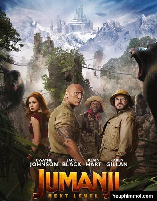 Jumanji 3: Trò Chơi Kỳ Ảo Thăng Cấp