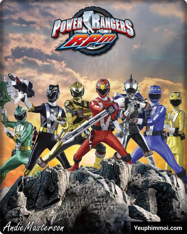 Power Ranger RPM